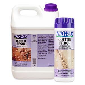【送料無料】キャンプ用品 ワックスキャンバスnikwax cotton proof wash in waterproofing for waxed cotton polycotton amp; canvas