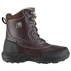 【送料無料】キャンプ用品 カジュアルブーツサイズkarrimor snow casual winter boots size uk 7