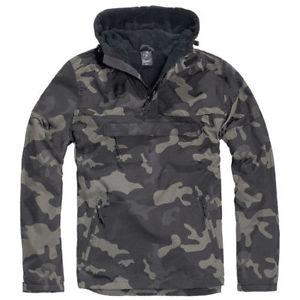 【送料無料】キャンプ用品 ジャケットクラシックウィンドブレーカーフードハイキングハンティングダーク