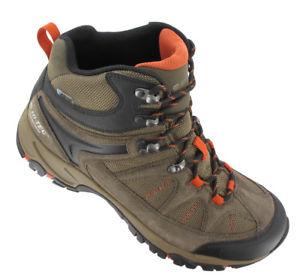 【送料無料】キャンプ用品 ハイテックメンズウォーキングブーツhi tec altitude lite i waterproof mens walking boots brown taupe red