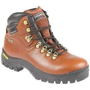 【送料無料】キャンプ用品 ペーバーレディースウォーキングハイキングブーツレザーブラウンpavers ladies walking hiking boots sympatex waterproof leather brown uk 5 eu 38