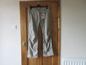 【送料無料】キャンプ用品 ロウアルパイントレッキングパンツサイズカラーカーキタグlowe alpine java womans trekking trousers size 12 r colour khaki with tags