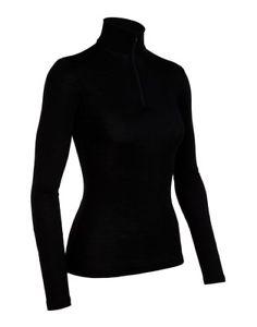 【送料無料】キャンプ用品 ウォーミングアップロングスリーブハーフジップicebreaker everyday long sleeve half zip womens