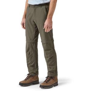 【送料無料】キャンプ用品 メンズトレッキングジップアドベンチャーズボンcraghoppers mens trek convertible zip adventure walking trousers