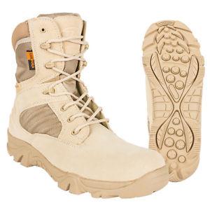 【送料無料】キャンプ用品 タンスエードデザートブーツエコーtan suede tactical desert boots echo military special forces army sas combat