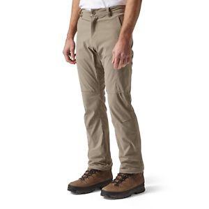 【送料無料】キャンプ用品 メンズウォーキングパンツレッグcraghoppers mens nosilife pro walking trousers reg leg pebble