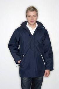 【送料無料】キャンプ用品 サイズネイビーメンズポリエステルワークジャケットコート