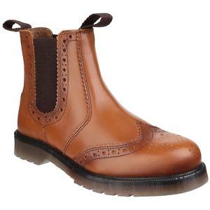 【送料無料】キャンプ用品 ブーツメンズプルamblers mens dalby pull on brogue boots fs4985