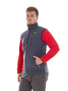 【送料無料】キャンプ用品 ベストベストグレーストレッチカラー listingcmp softshell vest functional vest gilet grey windproof stretch collar