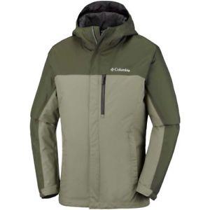【送料無料】キャンプ用品 コロンビアアドベンチャーメンズジャケットコートセージサイズ