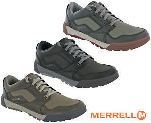 【送料無料】キャンプ用品 シフトレースウォーキングシューズレザーメンズハイキングmerrell berner shift lace shoes walking leather mens summer lightweight hiking