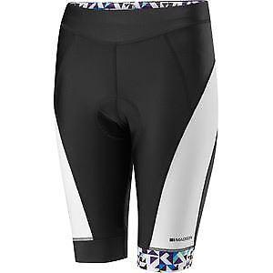 【送料無料】キャンプ用品 マディソンスポーツウィメンズショートパンツブラックホワイトパープルサイズ