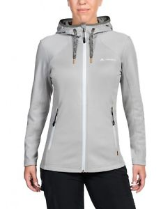 【送料無料】キャンプ用品 レディースハイキングレジャーフリースジャケットジャケットグレー