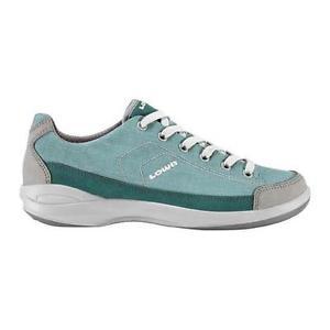 【送料無料】キャンプ用品 ガソリングレーlowa moja womens petrolgrey travel shoes uk 5