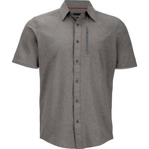 【送料無料】キャンプ用品 マーモットメンズショートスリーブシャツmarmot mens caecius short sleeve shirt