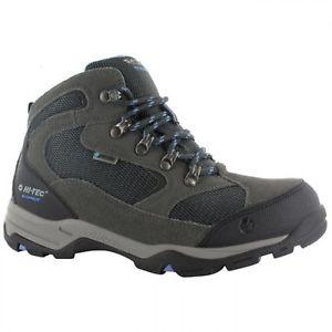 【送料無料】キャンプ用品 ストームウォーキングハイキングシューズhitec storm wp womens waterproof breathable walking hiking shoes charcoal