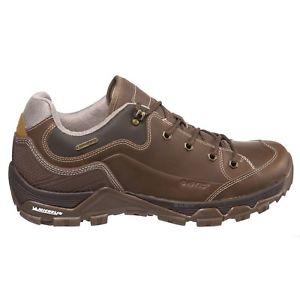 【送料無料】キャンプ用品 メンズウォーキングハイキングシューズ hitec men's ox discovery leather walking hiking shoes waterproof