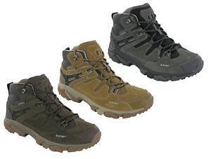 【送料無料】キャンプ用品 アドベンチャーミッドウォーキングトレーナーハイキングhitec ravus adventure mid waterproof walking trainers comfort hiking uk713