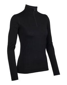 【送料無料】キャンプ用品 ウォーミングアップオアシスロングスリーブハーフジップicebreaker womens oasis long sleeve half zip