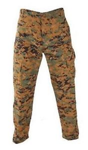 【送料無料】キャンプ用品 アーミーウッドランドデジタルズボンus propper army woodland digital acu combat battle rip trousers xlarge long
