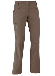 【送料無料】キャンプ用品 ハイキングズボンサロモンパンツショートサイズhiking trousers womens salomon wayfarer pant w ,brown , also short sizes