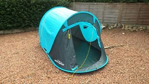 【送料無料】キャンプ用品 テント2adventuridgeポップtwo person adventuridge pop up tent unused