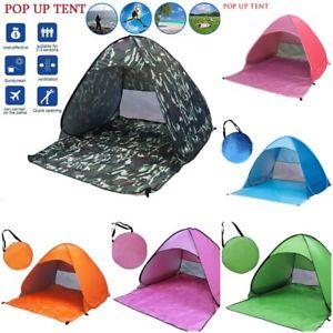 【送料無料】キャンプ用品 ホットテントアンチサンシェルターポップアップビーチキャンプhot 50 uv upf automatic tent anti uv sun shelter pop up travel beach camping