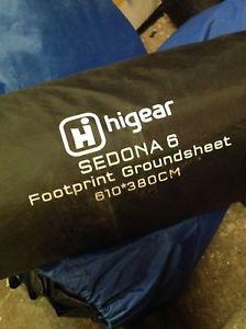 【送料無料】キャンプ用品 テントグラウンドシート610cmx380cmギヤーシドナ6hi gear sedona 6 footprint camping tent accessories groundsheet 610cm x 380cm