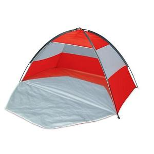 【送料無料】キャンプ用品 ビーチテントupf50 beach tent, 210 x 120 x 120cm assorted color easy set up with zip up front
