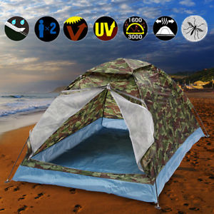 【送料無料】キャンプ用品 2 マンperson pop up tent hiking festival campingtent waterproof with carry bag2 man person pop up tent hiking festival campi
