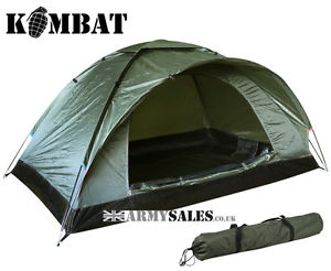 【送料無料】キャンプ用品 ドームテントkombat2kombat ranger 2 man single skin lightweight camping dome tent army olive green