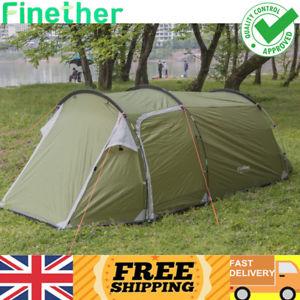 【送料無料】キャンプ用品 3トンネルテントサン3person family tunnel tent camping fishing beach festival garden sun shelter