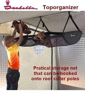 【送料無料】キャンプ用品 イザベラトップネットisabella top organiser practical storage net can be hooked onto roof rafter pole