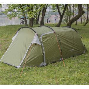 【送料無料】キャンプ用品 テントハイキングキャンプフェスティバルトンネルテント3 manperson tent easy build travel hiking camping festival family tunnel tent