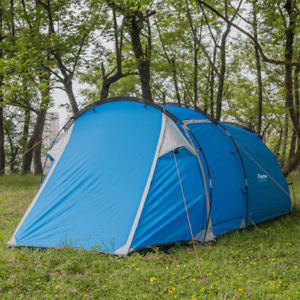 【送料無料】キャンプ用品 3 トンネルテントテントハイキング3 man person tent easy build instant hiking camping festival family tunnel tent