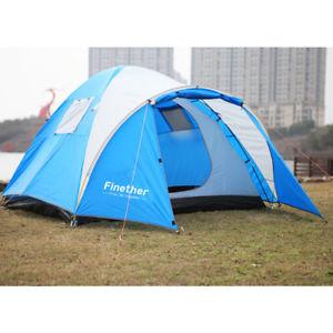 【送料無料】キャンプ用品 キャンプセットアップトンネルビーチシェルターテントfinether camping tent bivvy for 4 person easy setup fishing tunnel beach shelter