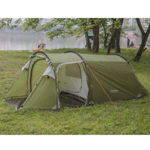 【送料無料】キャンプ用品 テントキャンプトンネルシェルター34 person family tent easy build camping tunnel shelter ultralight waterproof