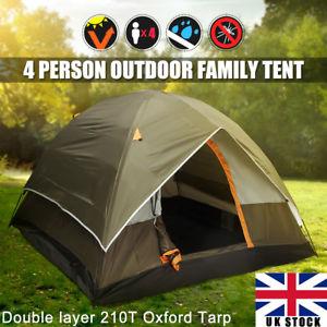 【送料無料】キャンプ用品 オックスフォードキャンプフェスティバルピクニックガーデンビーチサンシェルターテント210t oxford tarp 4 man tent for camping festival picnic garden beach sun shelter