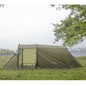 【送料無料】キャンプ用品 トンネルキャンプテントキャノピービーチサンシェルター3 person man tunnel camping tent 3 entrances canopy festival beach sun shelter