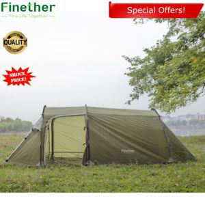 【送料無料】キャンプ用品 サン3トンネルテントフェスティバルメッシュlarge 3 person man family tunnel tent festival mesh camping fishing sun shelter