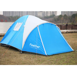 【送料無料】キャンプ用品 ドームテントビーチキャンプフェスティバルテントサンdome tent 34 man beach camping festival fishing tent sun shelter with awning