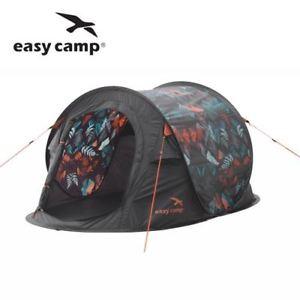 【送料無料】キャンプ用品 キャンプポップアップインスタントキャンプテントeasy camp nighttide popup festival 2 person instant camping tent