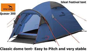 【送料無料】キャンプ用品 キャンプキャンプクエーサー200 2テントフェスティバルeasy camp quasar 200 2 person tent ideal festival camping