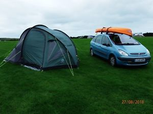 【送料無料】キャンプ用品 sunncamp400プラチナテントsunncamp evolution 400 platinum tent