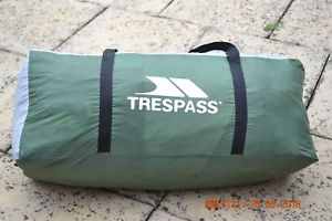 【送料無料】キャンプ用品 6マン2トンネルテントtrespass6man2roomtunneltent