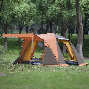 【送料無料】キャンプ用品 ダブル08ハイキングポップ34テントlarge blue 34 family tent canopy camping hiking traveling pop up double skin 08