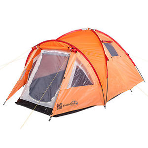 【送料無料】キャンプ用品 skandikaモーラ3ハイキングテント3000mmカラムオレンジskandika mora 3 person man trekking hiking tent 3000mm water column orange