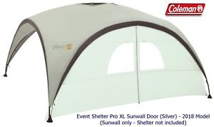 【送料無料】キャンプ用品 コールマンイベントxl sunwallドアシルバー 2018モデルcoleman event shelter pro xl sunwall door silver 2018 model