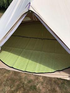 【送料無料】キャンプ用品 4mテントマット プラスチック4m bell tent matting recycled plastic rug waterproof amp; insulating