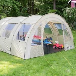 【送料無料】キャンプ用品 ケミトンネルテントキャンプカーキskandika kemi 4 personman family tunnel tent camp 3000mm water column khaki